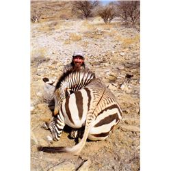 7-DAY MOUNTAIN ZEBRA HUNT FOR 1 HUNTER IN THE ERONGO MOUNTAINS OF  NAMIBIA