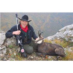 3-DAY BALKAN CHAMOIS OR EUROPEAN WOLF HUNT FOR 1 HUNTER IN MACEDONIA