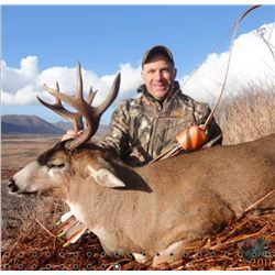 9-DAY ALASKAN HUNT FOR 2 MOUNTAIN GOATS AND 1 SITKA BLACKTAIL DEER FOR 1 HUNTER