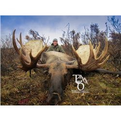 9-DAY CANADIAN MOOSE & WOLF HUNT FOR 1 HUNTER WITH TAHLTAN OUTFITTERS