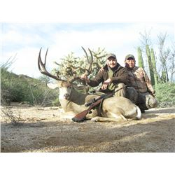 7-DAY SONORAN MEXICO MULE DEER HUNT FOR 1 HUNTER