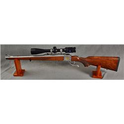 RUGER MODEL 1 IN A .308 WSM FULLY ENGRAVED BY BARON TECHNOLOGY. WITH ZEISS HD5 3-15X42 RZ600 SCOPE