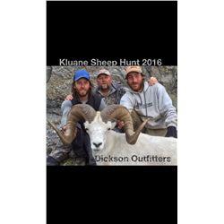 KLUANE FIRST NATION DALL'S SHEEP PERMIT