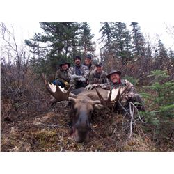 10-DAY CANADIAN MOOSE HUNT IN BRITISH COLUMBIA FOR 1 HUNTER
