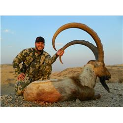 3-DAY SINDH IBEX (ANY SIZE) HUNT IN PAKISTAN FOR 1 HUNTER (Trophy Fee Included)