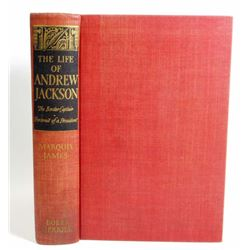 "1938 ""THE LIFE OF ANDREW JACKSON"" HARDCOVER BOOK"