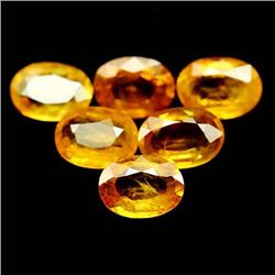 LOT OF 7.87 CTS OF YELLOW THAILAND SAPPHIRES