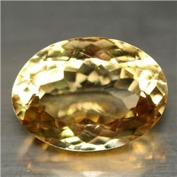 4.59 CT GOLDEN YELLOW BRAZILIAN CITRINE