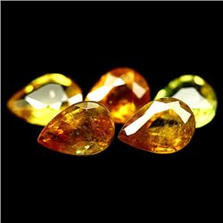 LOT OF 5.08 CTS OF YELLOW GREEN CEYLON SPHENE