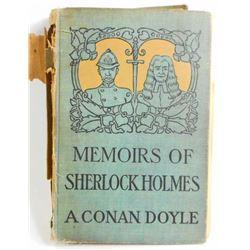 "1894 ""MEMOIRS OF SHERLOCK HOLMES"" HARDCOVER BOOK"