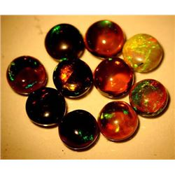 LOT OF 5.27 CTS OF FANCY COLOR ETHIOPIAN OPALS