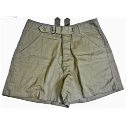 GERMAN NAZI ARMY AFRIKA KORPS MILITARY TROPICAL SHORTS