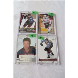 Ilya Kovalchuk (Rookie) Upperdeck, Matt Duchene (Rookie) Upperdeck, Nicklas Backstrom (Rookie) Upper