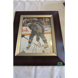 Joe Thornton Autographed Wall Picture