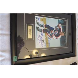 Bobby Hull Autographed Wall Picture 12/999