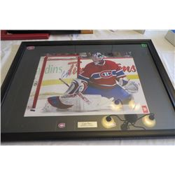 Carey Price Autpgraphed Lg Wall Picture