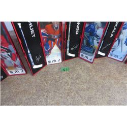 Set of 6 Star Sticks 2007-08 (McDonalds)