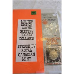 Wayne Gretzky Hockey Dollar