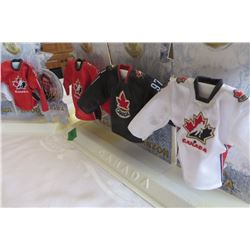 2006 Team Canada McDonalds Set of 6 Jerseys