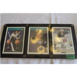 Manon Rheaume x3 cards - The first lady of Hockey