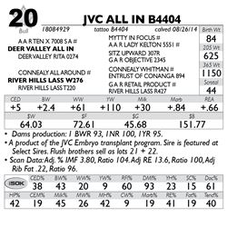 Lot 20 - JVC ALL IN B4404