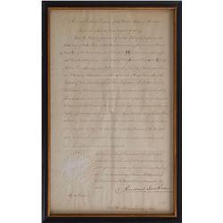 Andrew Jackson and Martin Van Buren