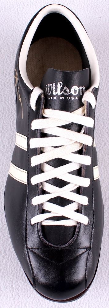 fa6d647b7b7c ... Image 3   Reggie Jackson Signed Vintage Converse Baseball Cleat with  High Quality Display Case ...