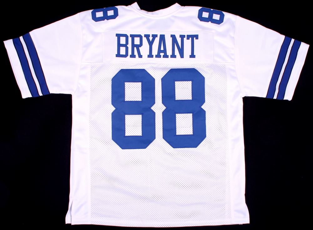 Dez Bryant Cowboys On Field Style Custom Stitched Jersey