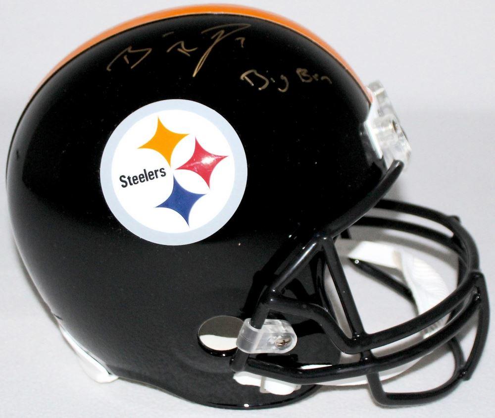 new style 56797 f7175 Ben Roethlisberger Signed Steelers Full-Size Helmet ...