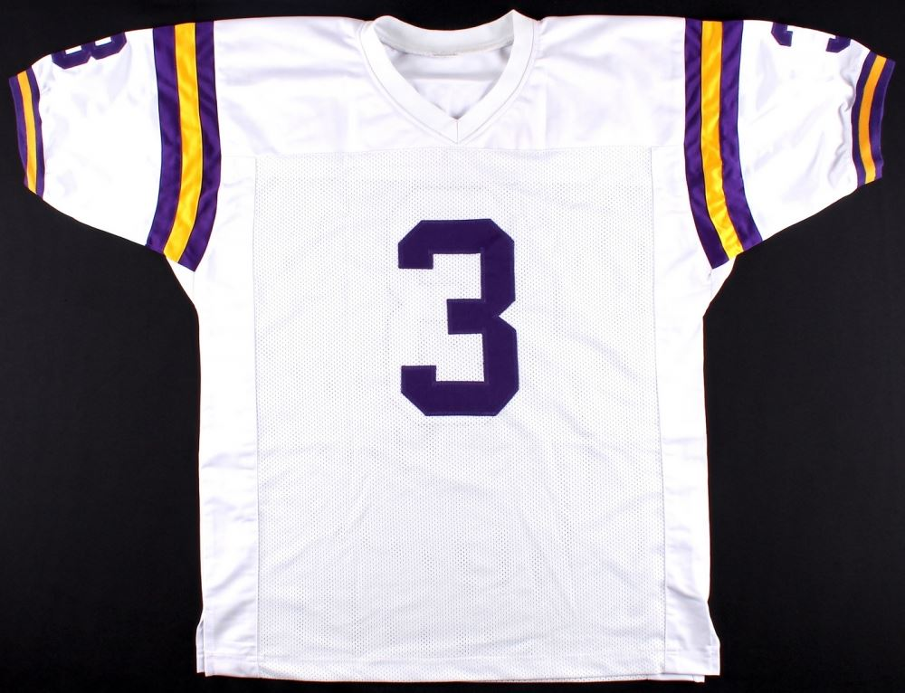 new product e86bd 38b59 Odell Beckham Jr. Signed LSU Jersey (JSA COA)