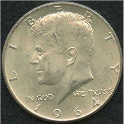 1964 Kennedy Silver Half-Dollar
