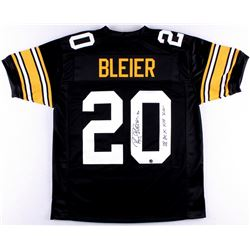 "Rocky Bleier Signed Steelers Jersey Inscribed ""SB IX X XIII XIV"" (TSE COA)"