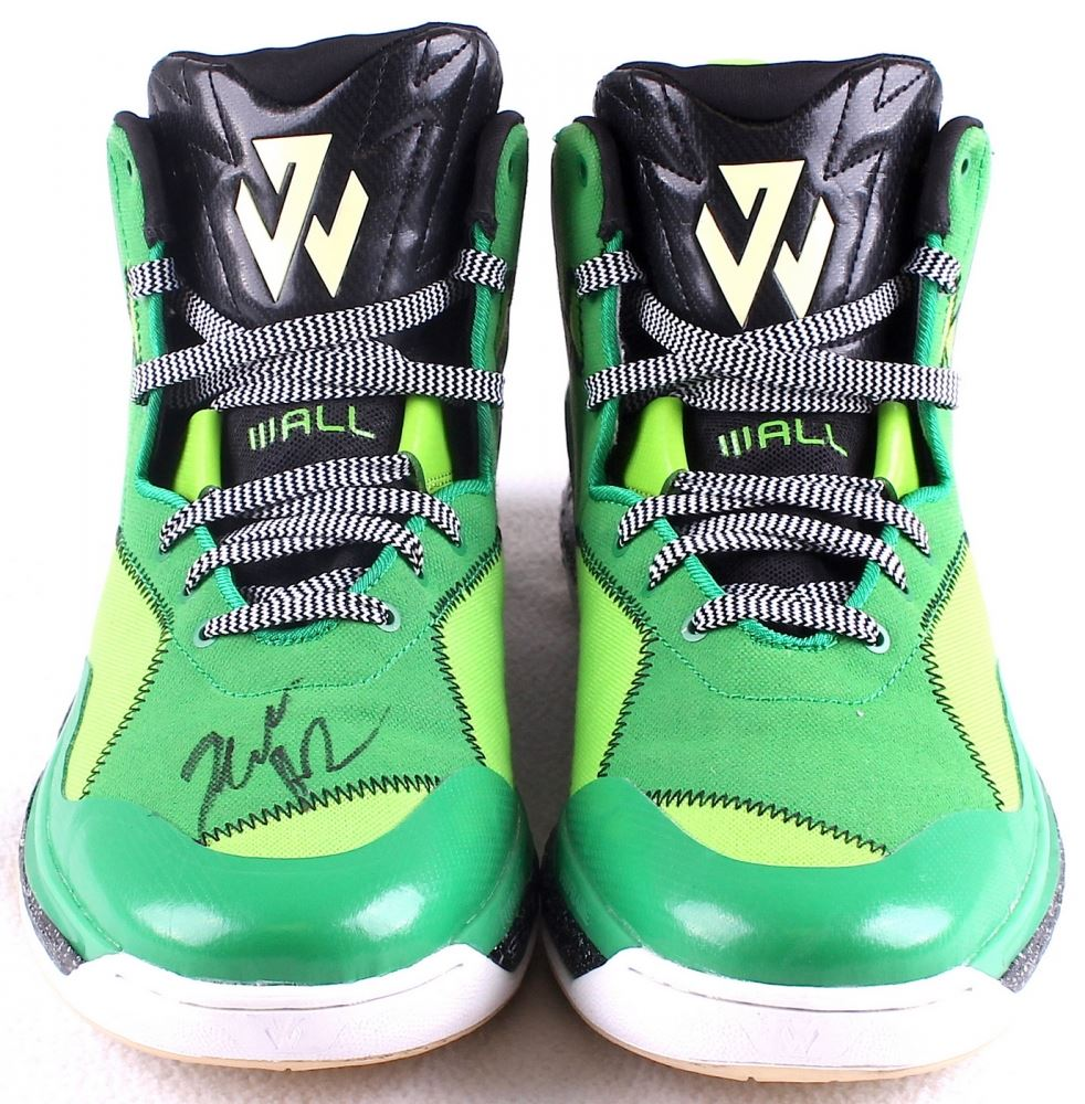 separation shoes dc2ac 30cdf John Wall Signed New Pair of Custom Adidas Wall Game Model Basketball Shoes  (JSA). Loading zoom