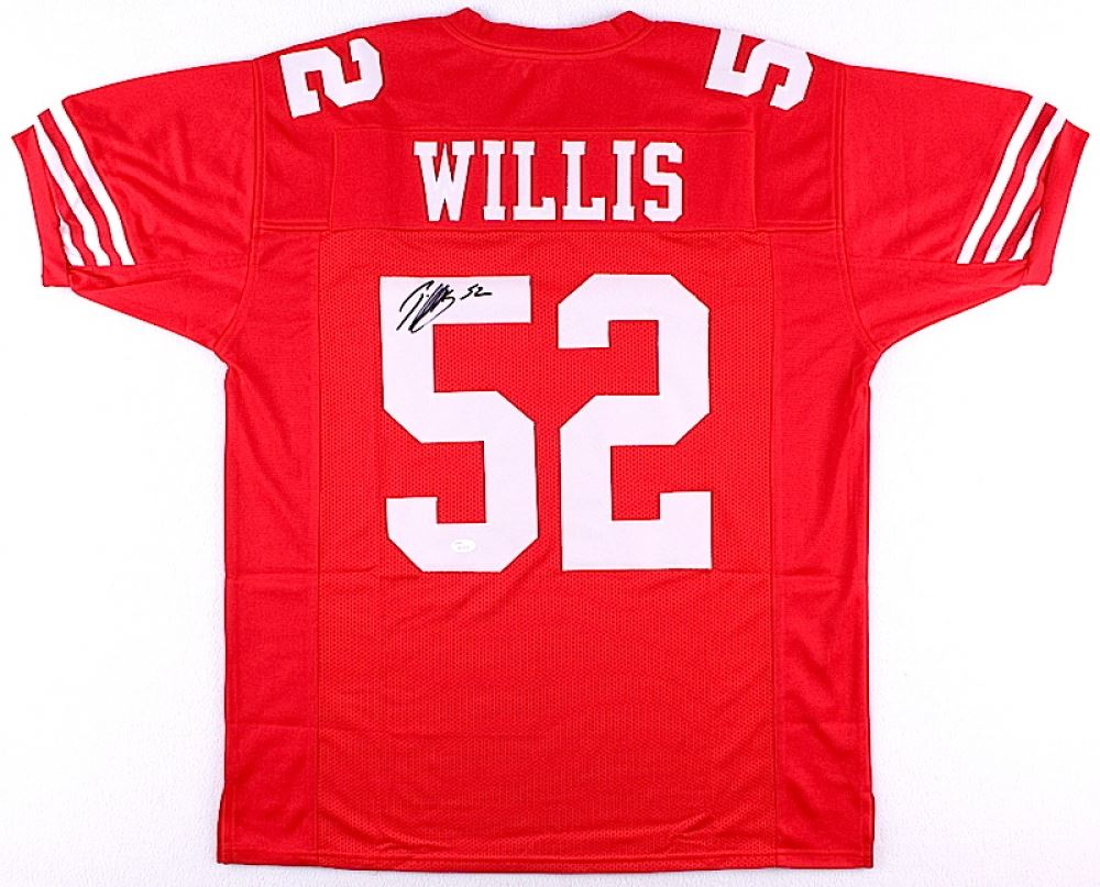 size 40 d0d06 94ef9 Patrick Willis Signed 49ers Jersey (JSA COA)