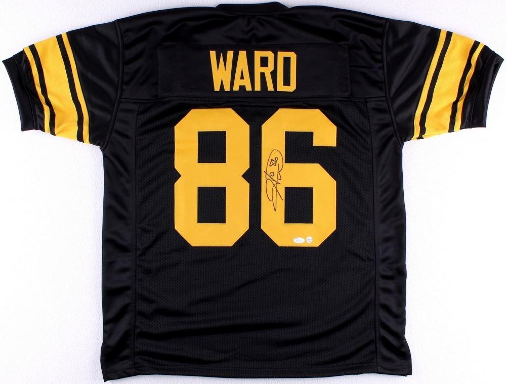 the best attitude 05f51 3e587 Hines Ward Signed Steelers Jersey (JSA COA & TSE COA)