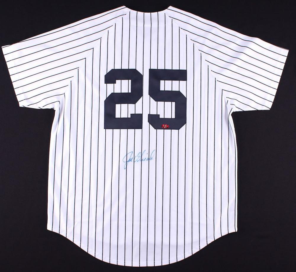 super popular 8500e 0b9c2 Joe Girardi Signed Yankees Jersey (MAB Hologram)