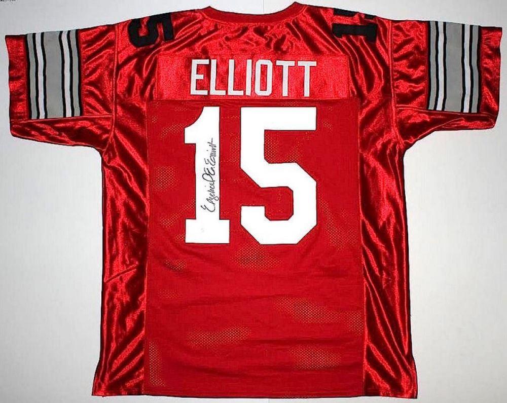 f61508f9495 Image 1 : Ezekiel Elliott Signed Ohio State Jersey (JSA COA)