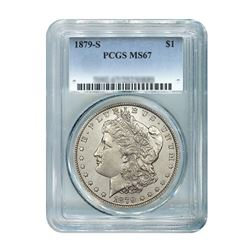 1879-S $1 Morgan Silver Dollar - PCGS MS67