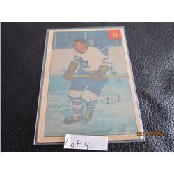 1953-54 Rudy Migay Toronto # 21 Printed in Canada
