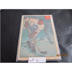 1953-54 Luckey Premium Card Toronto # 22