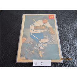 1953-54 Bob Bailey Toronto #28 Printed in Canada