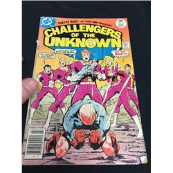1977 DC Challengers of the Unknown Comic Book