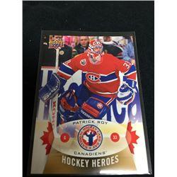 Patrick Roy Upper Deck Hockey Heroes Card