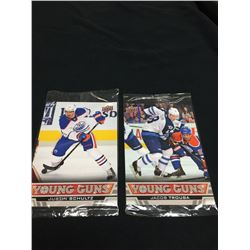 Upper Deck Jacob Trouba & Justin Schultz Oversized Rookie Cards