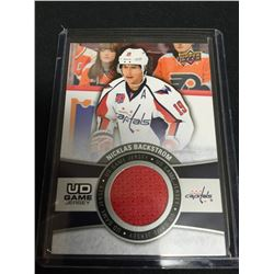 2015 Upper Deck Nicklas Backstrom Game Used Jersey Card