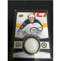 2015 Upper Deck Jacob Trouba Game Used Jersey Card