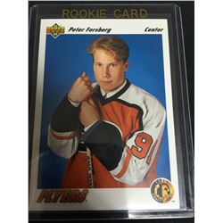 1991 Upper Deck Peter Forsberg Rookie Card