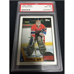 1987 Patrick Roy Topps Graded Card