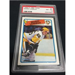 1988 Mario Lemieux OPC Graded Card