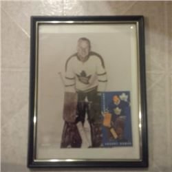 10 x 13 of NHL liscensed Johny Bower